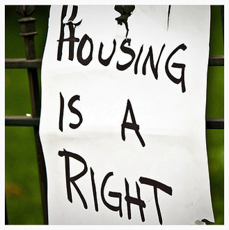 Housing is a human right. Nicholas Nicol, Barrister and Mediator, defending people's right to a home